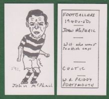 Glasgow Celtic John McPhail Scotland 592